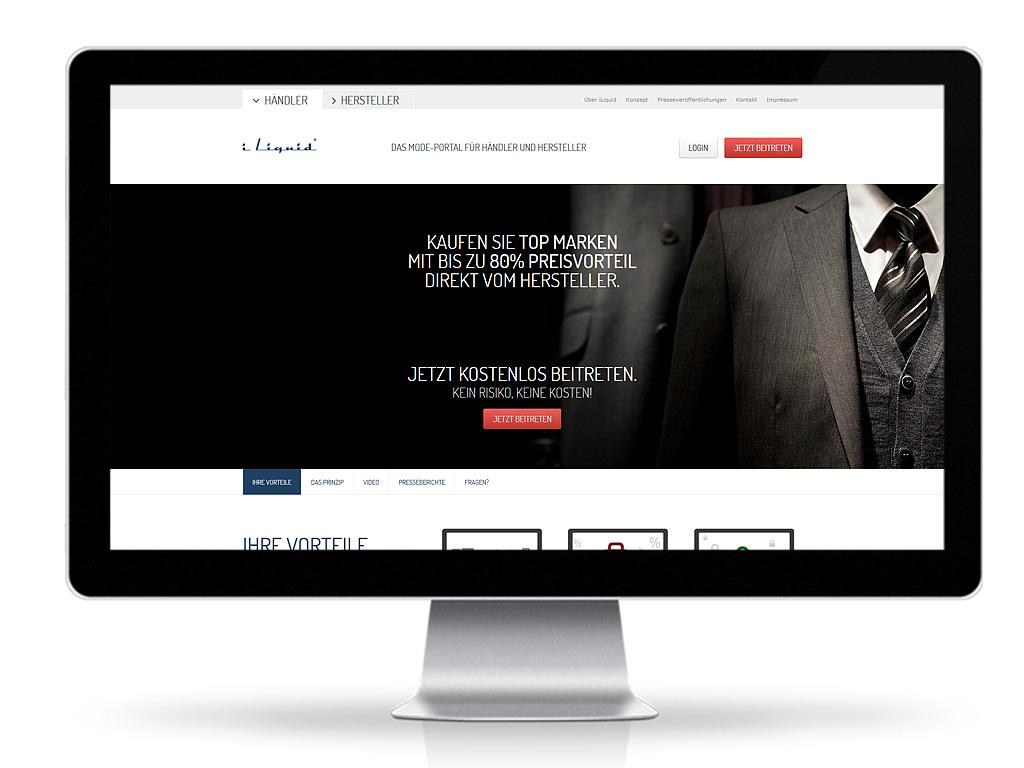 iLiquid GmbH - Frontend-Relaunch