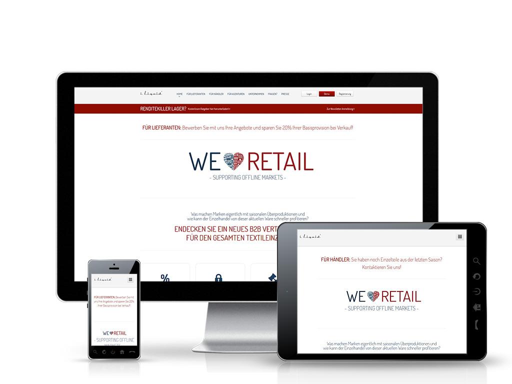 iLiquid GmbH - Individuelle E-Commerce-Lösung