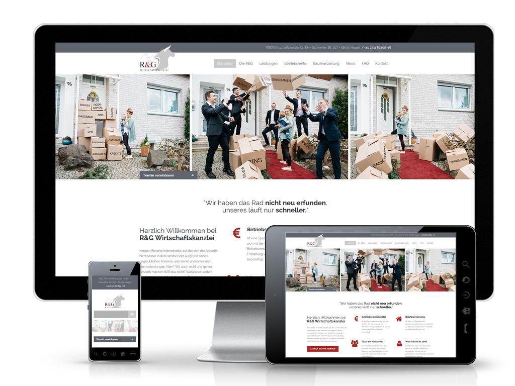R&G Wirtschaftskanzlei GmbH - Website