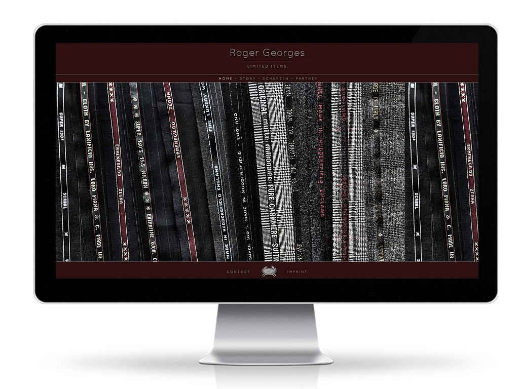 Roger Georges - Webshop